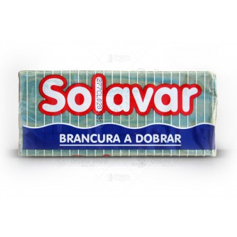 Solavar Azul e Branco - Laundry Household Soap - 400g