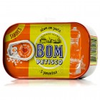 Bom Petisco Canned Solid Tuna in Vegetable Oil & 5 Peppers - Azores - 120g