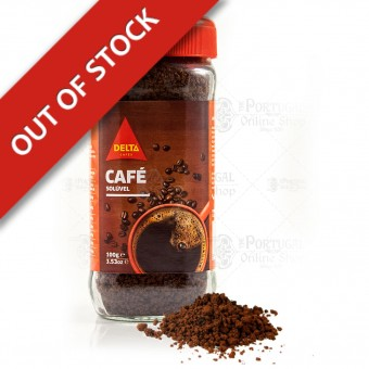 Delta Instant Soluble Ground Coffee - 100g