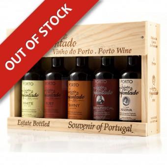 Port Wine Gift Box 5x50ml Miniatures - Quinta do Infantado