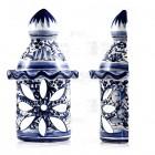 Azulejo Ceramic Chimney Wall Light - Algarve