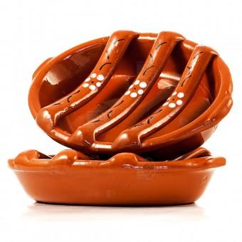 Handmade Terracotta Chorizo Sausage Barbecue Cooker