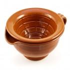 "Clay Shaving Scuttle - ""Estremoz"" V2 - Dual Piece Bowl"