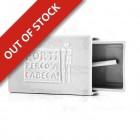 Stoneware Faience Matchbox with Slate - White - Por Ti Perco a Cabeça