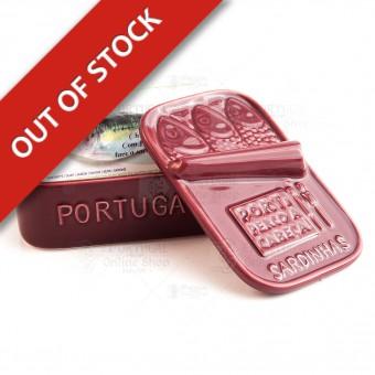 Stoneware Faience Sardine Can - Bordeaux - Por Ti Perco a Cabeça