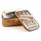 Stoneware Faience Sardine Can - Gold - Por Ti Perco a Cabeça