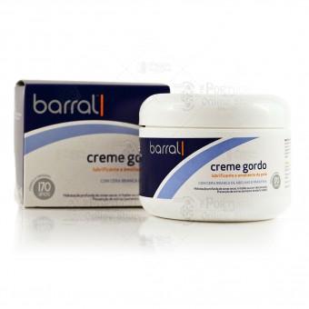 Barral Creme Gordo - Cold Cream Moisturizer - 200g
