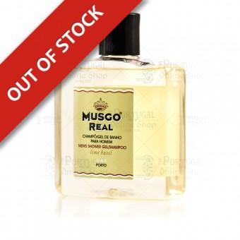 Musgo Real Shampoo & Shower Gel Lime Basil - Claus Porto - 250ml