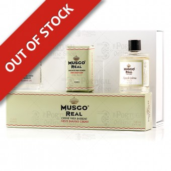Musgo Real White Gift Box Shave Set Lime Basil - Claus Porto