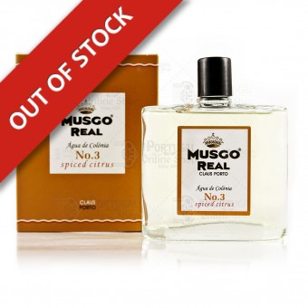 Musgo Real Cologne Nº 3 - Spiced Citrus - Claus Porto - 100ml