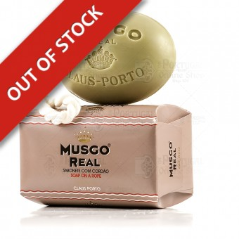 Musgo Real Men's Body Soap On A Rope Oak Moss - Claus Porto - 190g