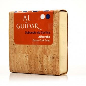 AlGuidar Artisanal Cork Soap - Carob