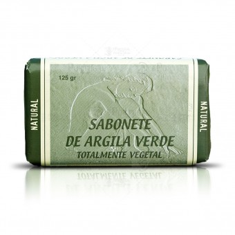 100% Natural French Green Clay Soap - 125g