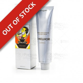 O MELHOR Shaving Cream - Confiança - 100ml