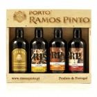Porto Wine Gift Box 4x90ml Miniatures - Ramos Pinto