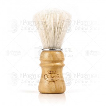 Semogue SOC Owners Club Ash Wood Bristle Shaving Brush